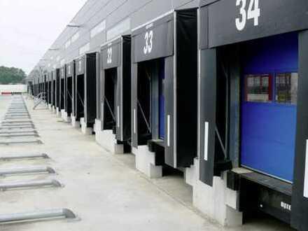 """BAUMÜLLER & CO."" - Logistikhalle ca. 8.000 m² - BAB-Anbindung - modernes Rampenlager"