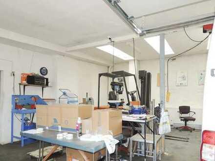 Gewerbegrundstück mit Werkstatt, Bürotrakt und Abstellfäche