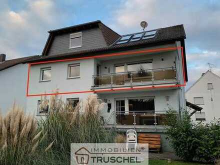 4 Zimmer Wohnung im 1. OG mit Garage und Küche - Blick ins Feld!