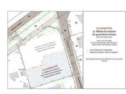 Grundstück für Gewerbe - Imbiss, Eiscafe, Ausstellungsfläche, Stellplatz , Lager, Handwerk