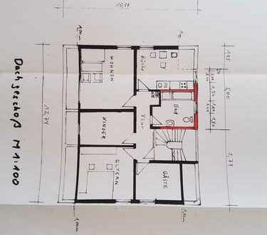 Freundliche 4-Zimmer-DG-Wohnung in Lottenweiler