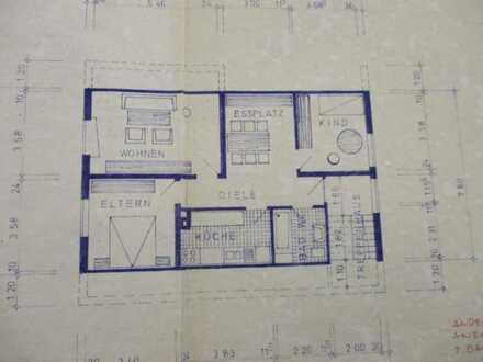 Schöne, helle Dachgeschoßwohung 3,5 Zimmer