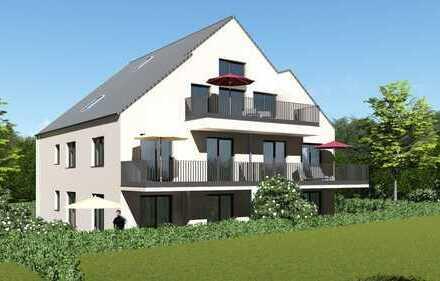 Ohne Käuferprovision: Dachgeschoss-Traumwohnung mit großem Spitzboden in Naturlage