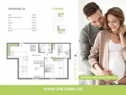 Stilvolles Zuhause mit einem großen Wohn-Ess-Kochbereich