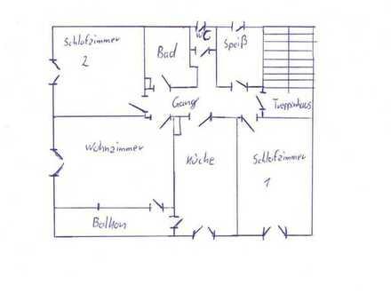 Attraktive 3-Zimmer-Wohnung mit Balkon in einem Ortsteil von Pleinfeld