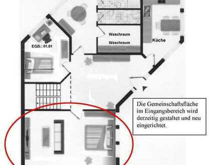 2-Zimmerwohnung, WG, GP + 10km, Küche - Waschmaschine - Trockner - Rollstuhlgeeignet