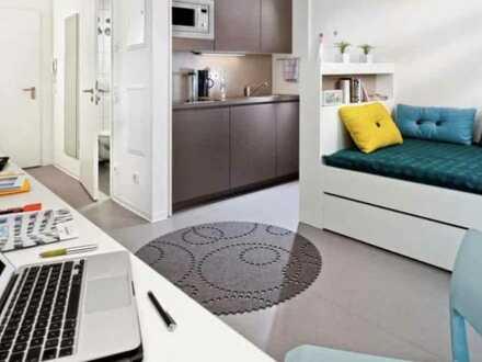 Gemütliche Einzimmerwohnung mit schöner Lage im Studentenwohnheim Campus Viva