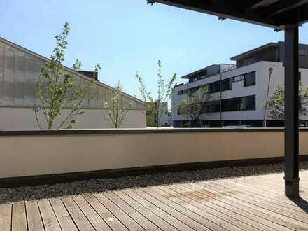 City-Living der Extraklasse! 3 Zi. Wohnung mit Küche und großer Südterrasse!