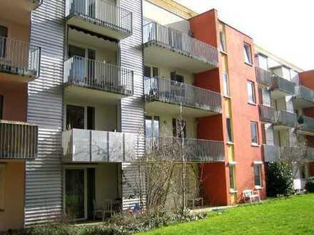 Gut geschnittene Eigentumswohnung mit West-Balkon und Blick ins Grüne
