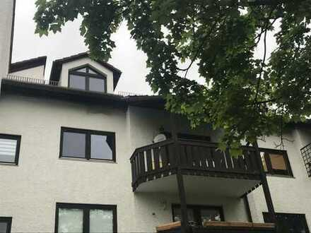 Toplage am Flaucher nahe Isar, Maisonette-Galeriewhg. mit Balkon absolut ruhiger Lage