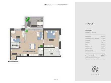 Neubauwohnung mit großzügiger Dachterrasse