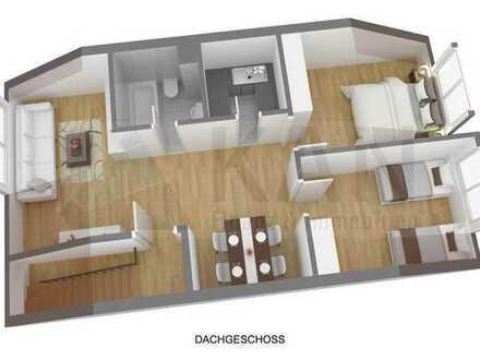 3 Zimmer Dachgeschoss Wohnung zu Verkaufen. Ideal als Kapitalanlage oder auch zum Selbstnutzen