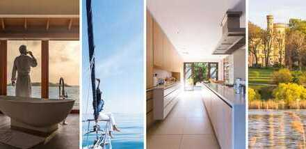 ~~~ SEEhr knorke: Luxus-Penthouse direkt am See, mit eigenem Seezugang ~~~