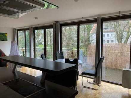 3-4-Zimmer-Maisonette-Wohnung mit großem Süd-Balkon