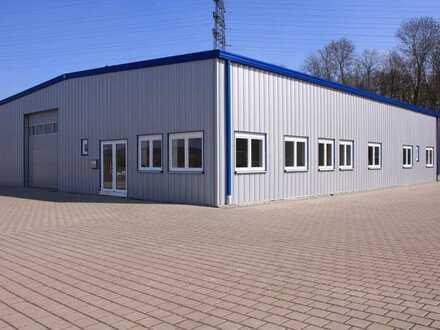 Gewerbehalle, ca. 350 qm, modernisiert, in Rastatt-Muggensturm, zu vermieten