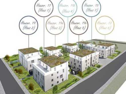 Erstbezug einer hellen 3-Zimmer Erdgeschosswohnung mit Süd-Ost Orientierung (Haus 5, Wohnung-Nr. 1)