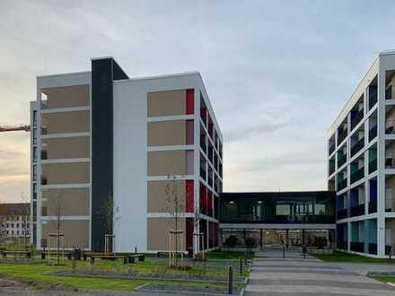 Untermieter gesucht: 2er WG, exklusive Neubau Wohnung, Balkon, zeitweise frei (siehe Text)