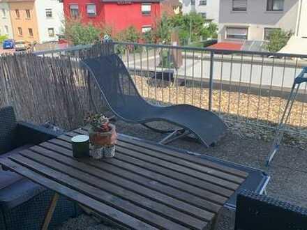 1 ZKB-Wohnung mit Terrasse und Stellplatz