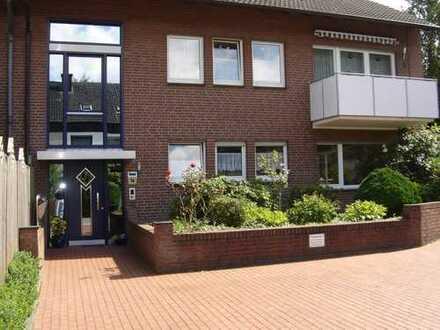 Schöne 3,5-Zimmer DG-Wohnung in Raesfeld-Erle, Kreis Borken, Südbalkon.