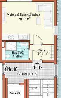 Neubauprojekt Harthausen - Haus 3 - Wohnung 19