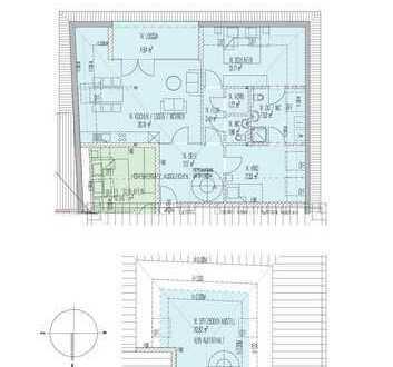 Erstbezug: Geräumige 4-Zimmer-DG-Wohnung mit Loggia in Selm-Bork (Nr. 14)