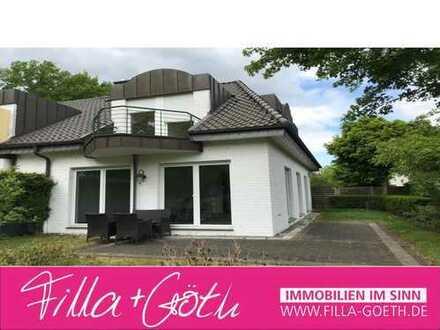 Hübsche Doppelhaushälfte mit Blick ins Grüne!