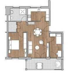 Schöne 3-Zimmer-Wohnung in Wohnanlage mit Wassergarten in Kenzingen