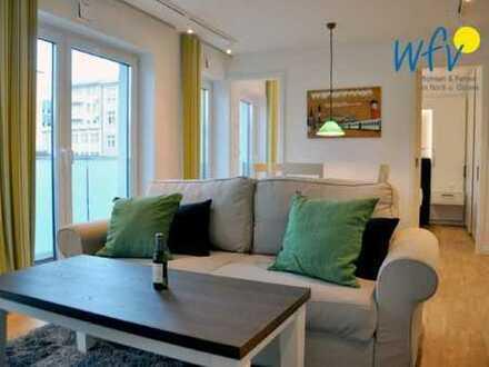 Moderne Penthousewohnung über den Dächern Wangerooges
