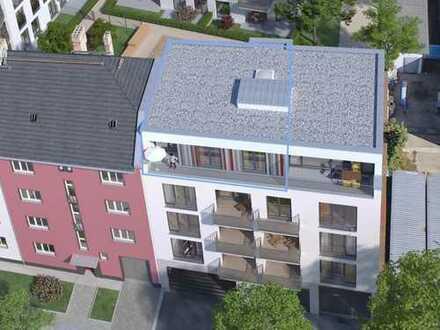2,5-Zimmer-Dachgeschoss-Wohnung mit 13 m² Südterrasse