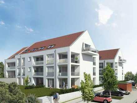 Sonnige Dachgeschosswohnung mit Südbalkon!