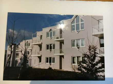 Gepflegte 1,5-Zimmer-EG-Wohnung mit Balkon und EBK in Coburg
