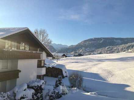 Wunderschöne, möblierte Wohnung mit Bergblick