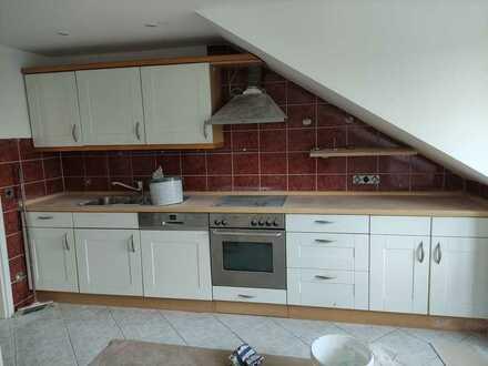 Sanierte 4-Zimmer-Dachgeschosswohnung mit Balkon und Einbauküche in Rammingen kurzfristig zu haben!