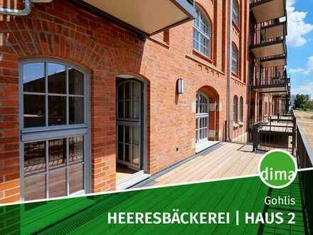 Frisch Saniert: Heeresbäckerei, Haus 2 | Balkon und eigener Garten + TG-Stellplatz + 2 Bäder + HWR