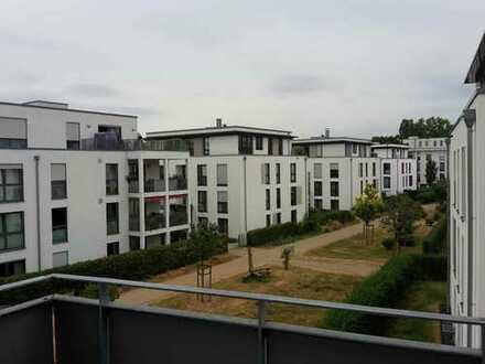 Moderne Drei-Zimmer Wohnung mit offener Wohnküche und Balkon in Plittersdorf nah Rheiaue