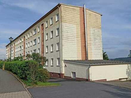 Sanierungsbedürftige 3-Zimmerwohnung mit Weitblick