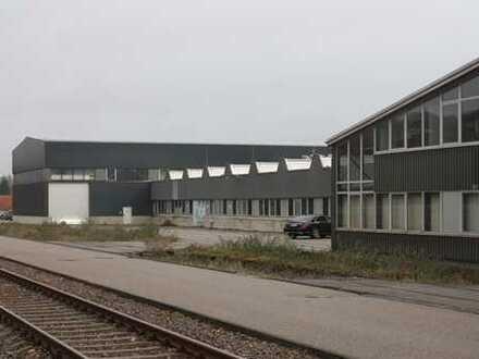 3 moderne Industriehallen mit großem Außenlager/Fläche