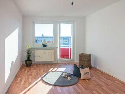 4-Raum-Familienwohnung mit Balkon im Erdgeschoss