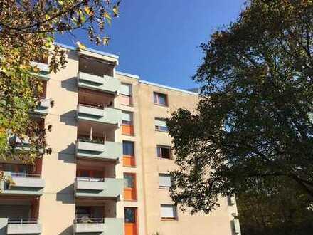 Offene 2-Zimmer-Wohnung mit Blick ins Grüne