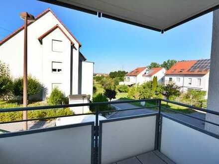 Attraktive 2 Zimmer-Mietwohnung mit Balkon
