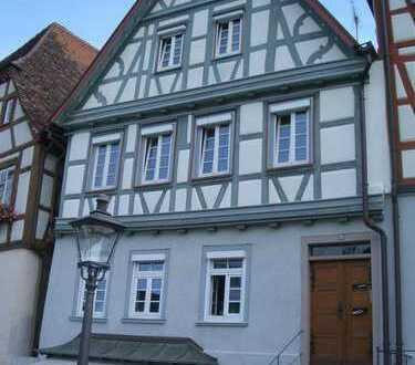 Modernes Wohnen im historischen Fachwerkhaus