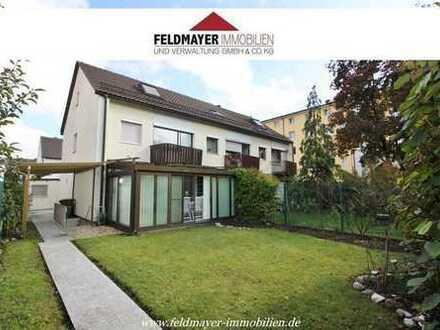 Reiheneckhaus mit 6 ZKB, Garten, 3 Garagen in ruhiger Wohnlage Haunstetten