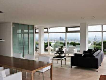 Einmaliges Angebot: Exklusives Penthouse über den Dächern von Köln