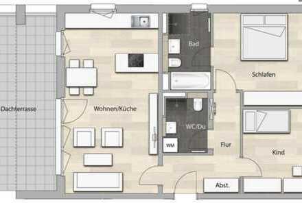Erstbezug: exklusive 3-Zimmer-Terrassenwohnung mit Balkon in Vaterstetten