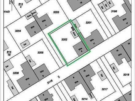 372m² Grundstück (mit kleinem Abrisshaus bebaut) in ruhiger Lage in 68775 Ketsch zu verkaufen!!