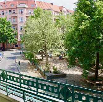 TOP-Lage! Freies 1-Zimmer Apartment mit Balkon in Prenzlauer Berg, Helmholtz-Kiez