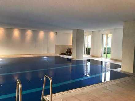 3 Zimmer mit Wasserblick und Schwimmbad sowie Sauna auf der Halbinsel Stralau