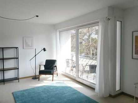 1-Zimmer-Wohnung mit Balkon in Tübingen, Neu Möbliert