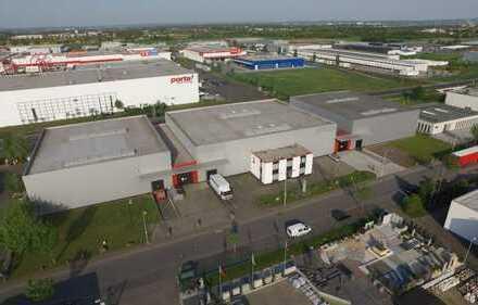 Hochwertige Gewerbehallen - Logistik-Zentrum mit Verwaltungsgebäude im Gewerbepark Bornheim-Süd