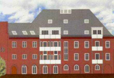 Senioren-Wohnung in einem denkmalgeschütztem Haus